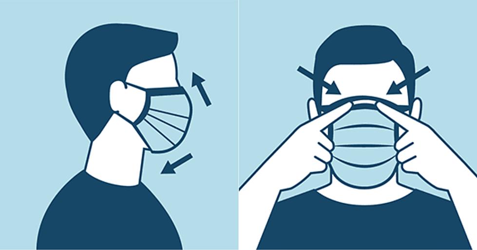 properly wear a mask