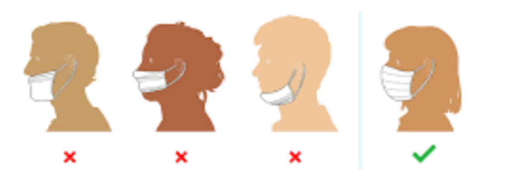 common mistakes for using masks